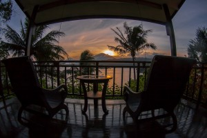 Sunset from my Room - Lembeh