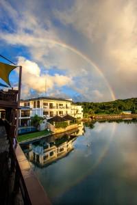 Rainbow - Manta Ray Bay Resort - Yap